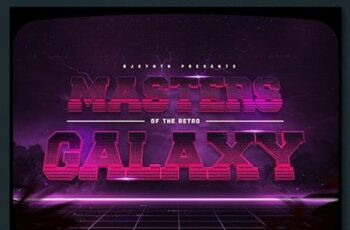 Synthwave 80s Retro Text Effects V3 26742705 6