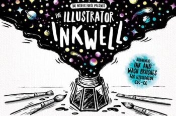The Illustrator Ink Well - Brushes 3099635