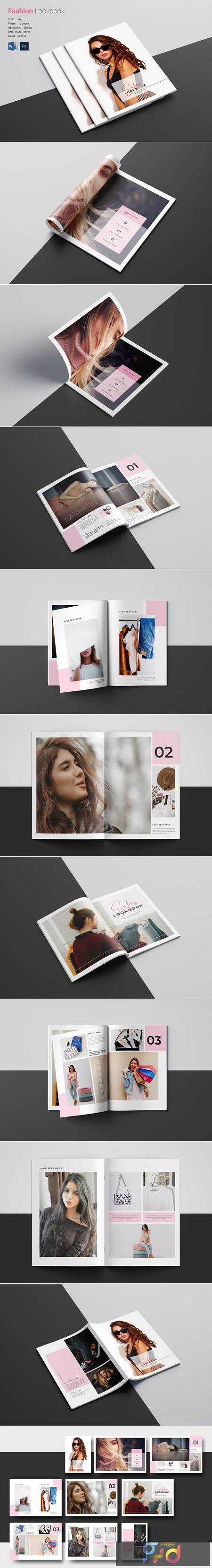 Lookbook Brochure Template 5027337 1