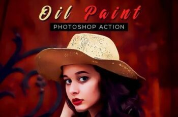 Oil Paint Photoshop Action 26304488