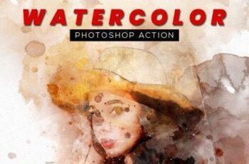 Watercolor Photoshop Action 26297940 4
