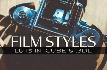 3d LUTs Film Styles 5027768 7