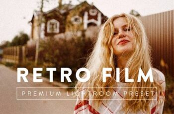 RETRO FILM Premium Lightroom Preset 5059631