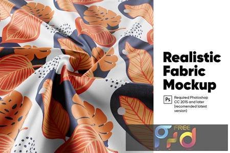 Realistic Fabric Mockup HK9U3BG 1