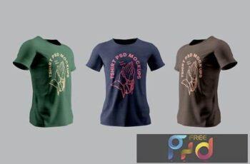 T-Shirt Mockups RT4PYD7 2