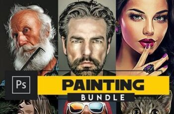 Painting Bundle - Photoshop Actions 27036000 3