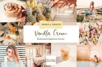 Vanilla Cream Lightroom Presets 4932255