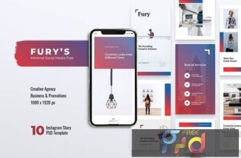 FURY Creative Agency Instagram Stories EXETHTC 12