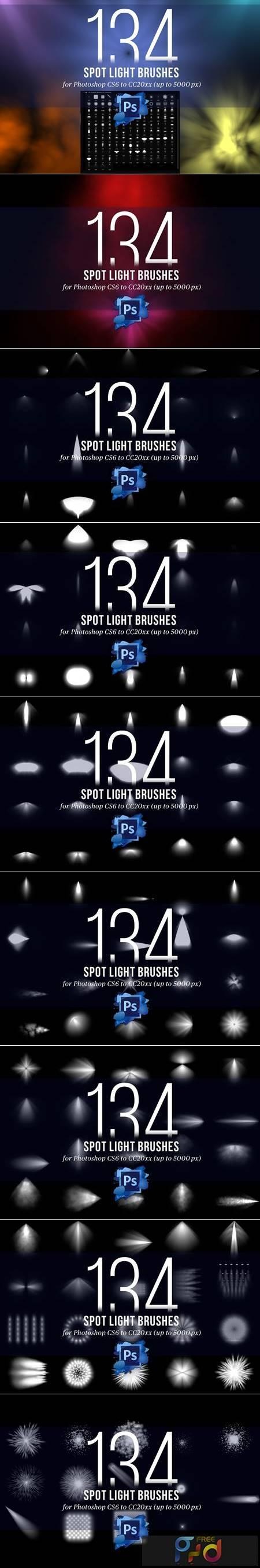 134 Spotlight Brushes for Photoshop 4445949 1