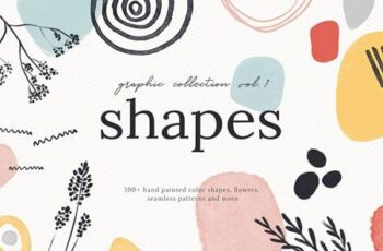 Abstract Shapes Print Graphics Vol.1 4940854 3