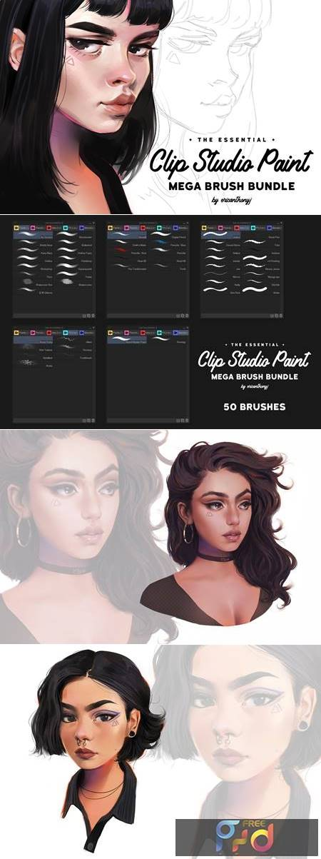Clip Studio Paint Mega Bundle 4456286 1