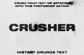 CRUSHER - Photoshop Action 4642758 4