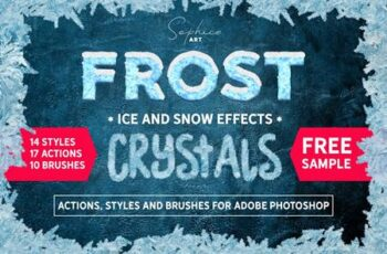 Frost Actions Styles Brushes For Ps 4603626 13