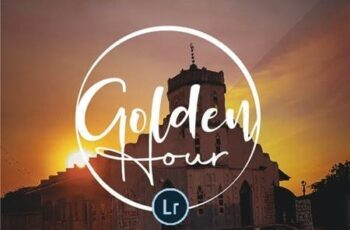 Golden Hour Lightroom Mobile and Desktop Presets Pack 26950223