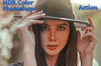 HDR Color Photoshop Action 4653732 4