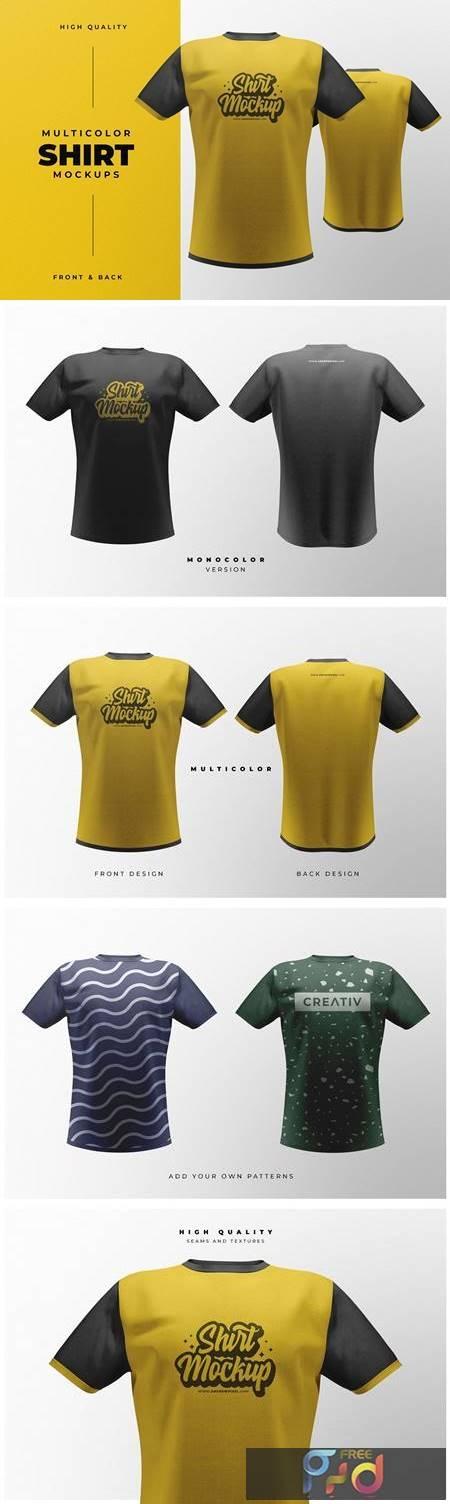 Short Sleeve T-Shirt Mockups 4831841 1