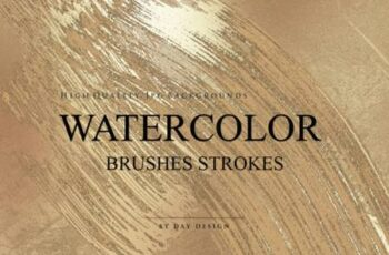 Watercolor Brushes Strokes Textures 4370614 8