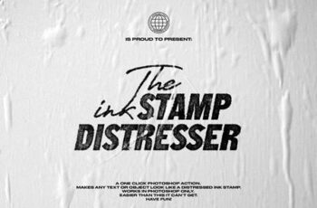 The Ink Stamp Distresser - One Click 4637254