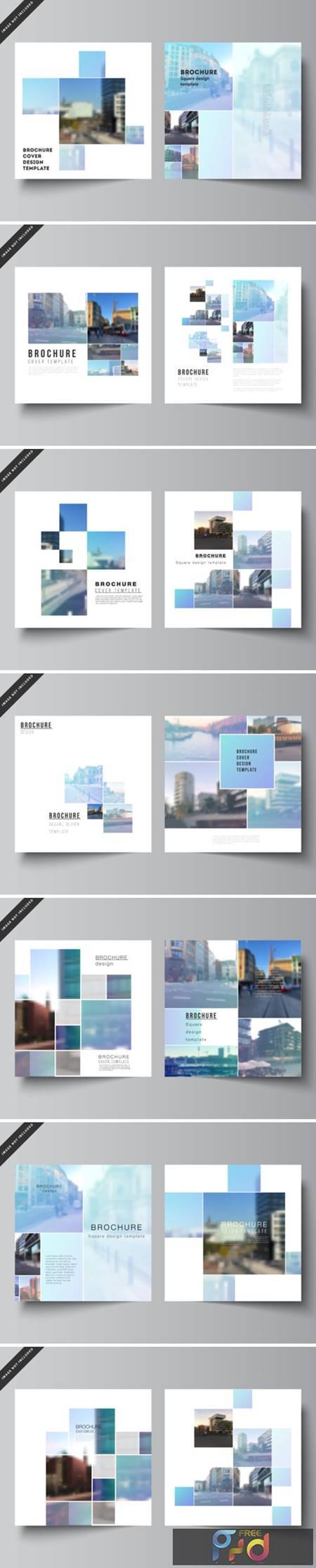 Square Format Covers Templates 1