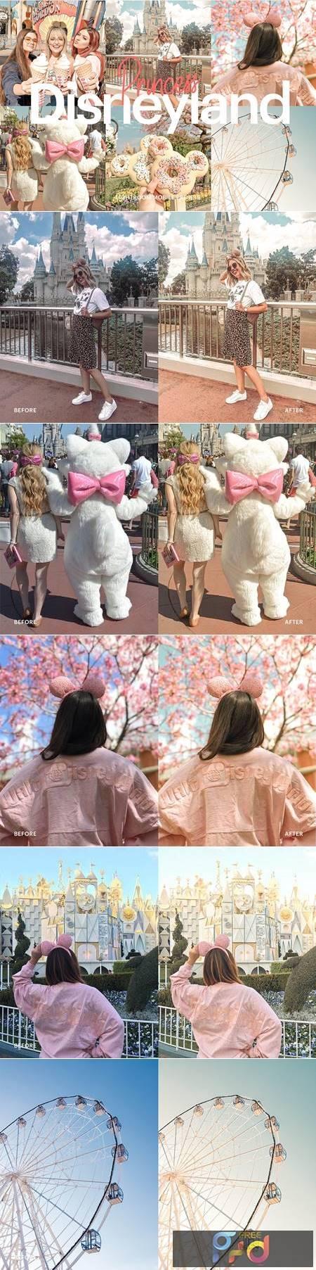 Lightroom Preset - Disneyland Princess 4973030 1