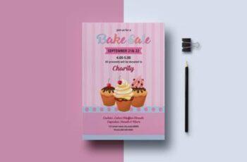 Bake Sale Flyer Template 4405348 4