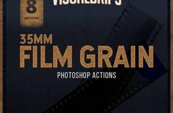 35mm Film Grain - Photoshop Action 26843288