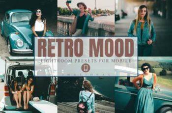 11 Retro Mood Mobile Lightroom Presets 4452156 6