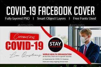 Covid 19 Facebook Cover 26497082 10