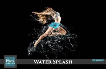 130 Water Splash Photo Overlays 4667763 2