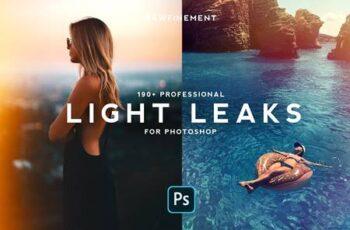 190+ Retro Analog Light Leaks Bundle 4691496 5