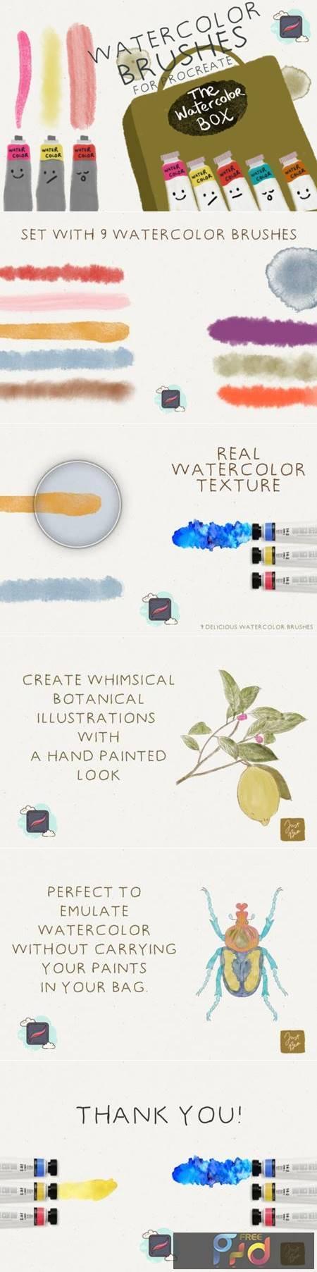 The Procreate Watercolor Box 4406653 1