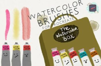 The Procreate Watercolor Box 4406653 5