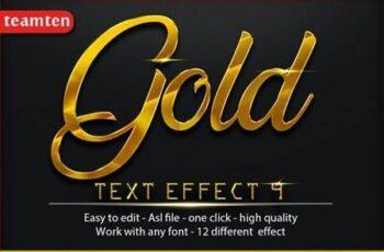 12 Gold Effect 9 26852889 1