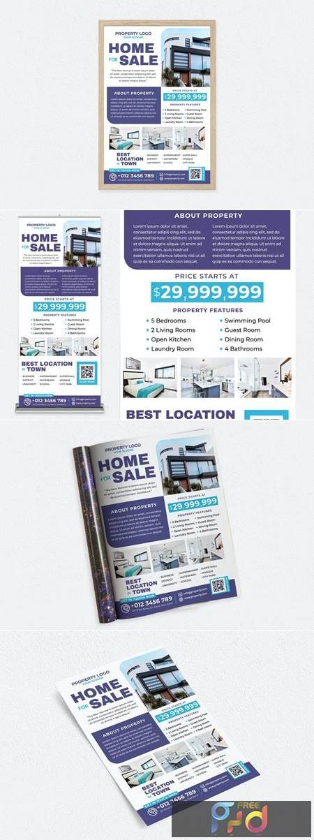Home For Sale Graphic Bundle 1