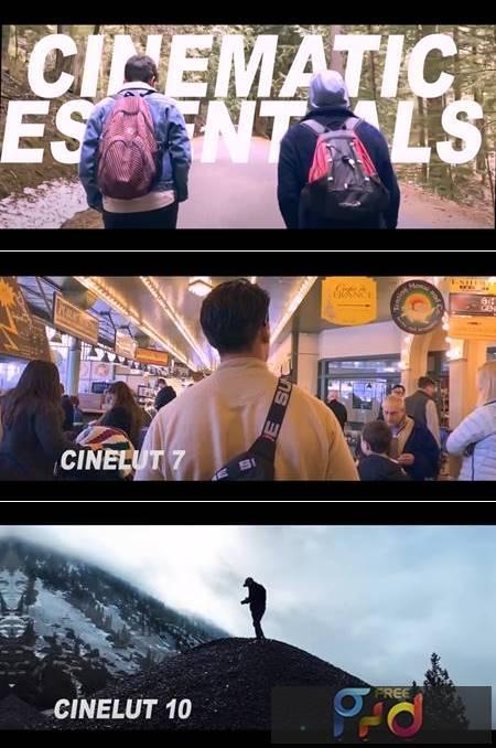2020 Cinematic Essentials LUT Pack 4961782 1