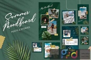 Summer Moodboard Instagram KX53SD6