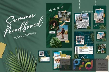 Summer Moodboard Instagram KX53SD6 1