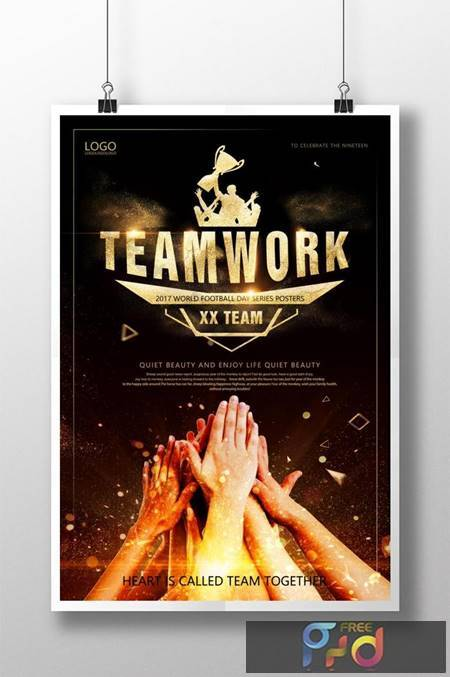 Black Gold Wind Team Spirit Sale Poster Template 1649594 1