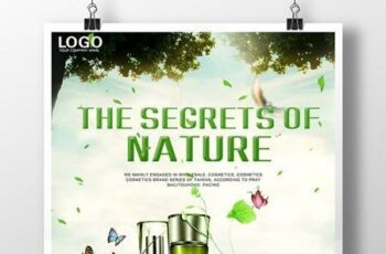 Clear Natural Cosmetics Poster Download 16394 4