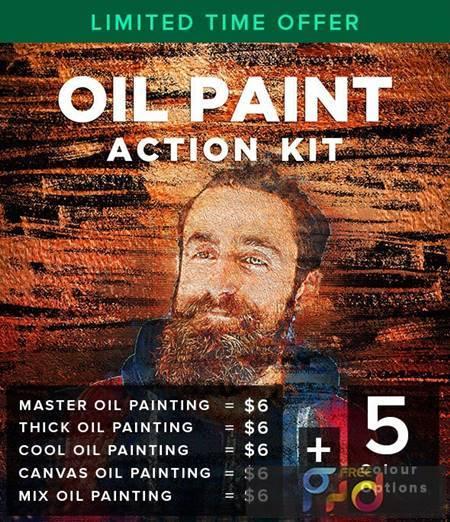 Oil Paint Action Kit 26847449 1