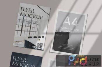 A4 Flyer Mockups V.3 GZN6BBX 6