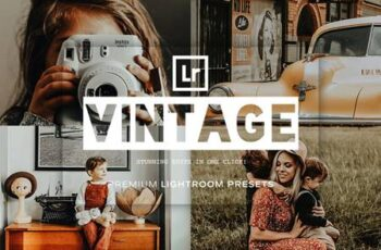 Vintage Lightroom Presets 5119423 3