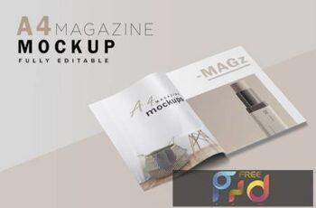A4 Magazine Mockup V.2 K3NDN8S 6