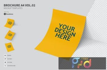 Brochure A4 vol.02 - Mockup FH MYTJWFX 6