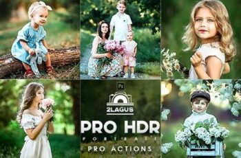 PRO HDR Portrait Photoshop Actions 27184929 6