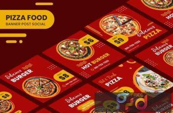 Pizza Food Banner Template ECJ2FDN 3