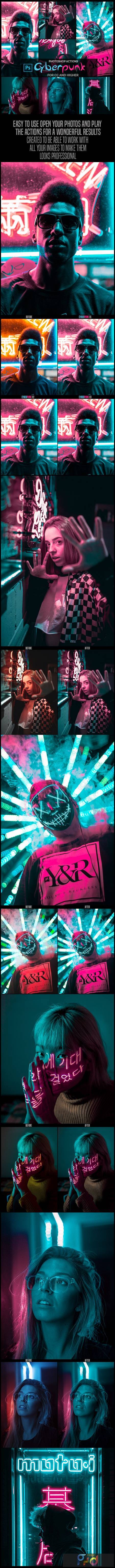 Cyberpunk - Photoshop Actions 26311519 1