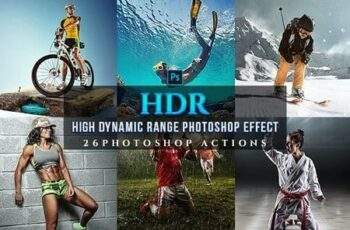 HDR Sport Magazine Photoshop 26 Effects 24381878