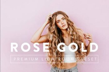 ROSE GOLD Premium Lightroom Preset 5059706