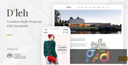 Dleh - Creative Multi-Purpose PSD Template 20671211 1